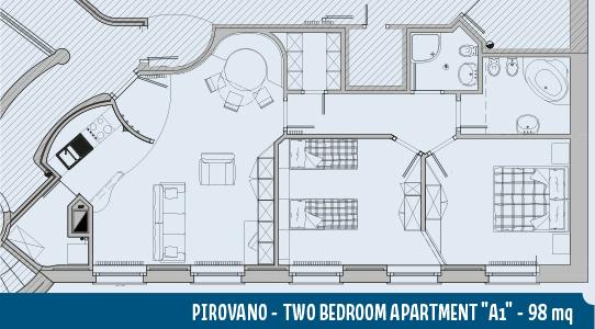 Apartment Pirovano A1 98mq