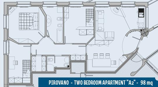 Apartment Pirovano A2 98mq