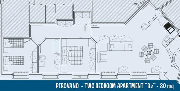 Apartment Pirovano B2 80mq