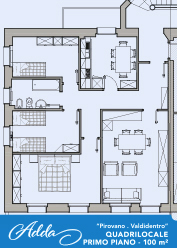 Layout appartamento Adda Valdidentro